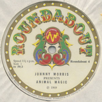 Animal Magic album label