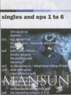 My 'Mansun EPs' CD