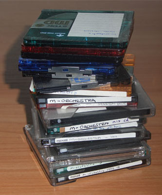 m-orchestra MiniDiscs