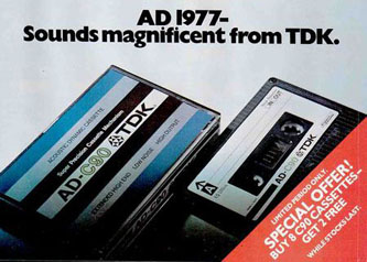 Tdk Tape Advert