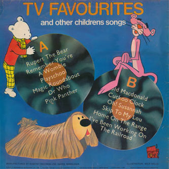 My old TV Favourites album