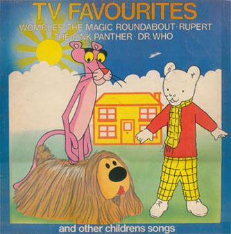 My old TV Favourites album