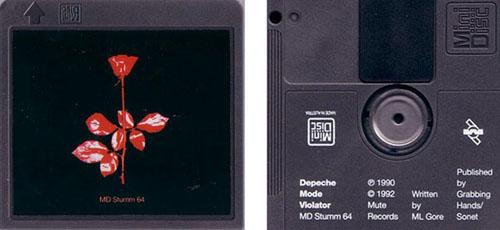 Violator MiniDisc release