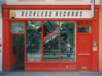 Reckless Records Berwick Street