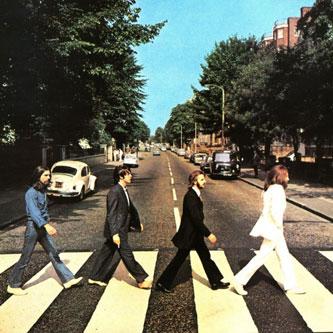 Beatles Abbey Road album cover