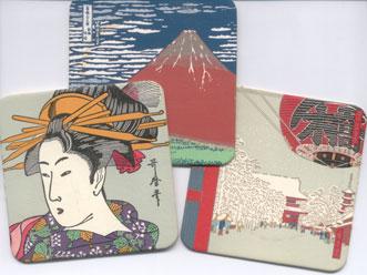 Japanese coasters