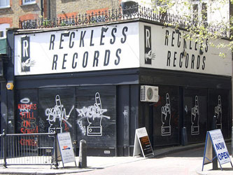 The closed Reckless branch in Islington