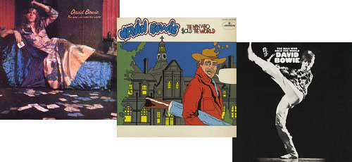 David Bowie album covers