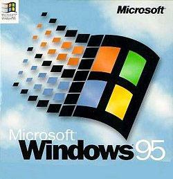 Windows 95 packaging