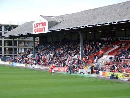 Busy Leyton Orient stadium