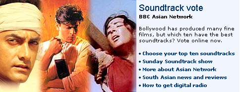 bbc.co.uk promo for the BBC Asian Network Top 40 Soundtracks vote