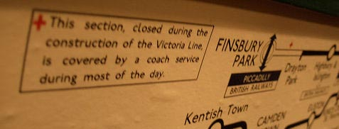 Disruption Due To The Construction Of The Victoria Line