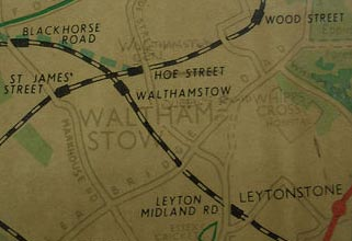 Transport Links in Walthamstow Before The Victoria Line