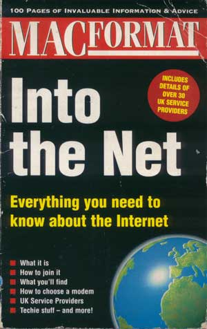 MacFormat Into The Net booklet from 1995