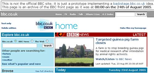 Testing the BBC Homepage's modes - Breaking News