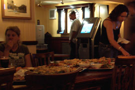 Free party food at The College Arms