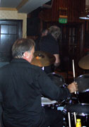 A band at The College Arms