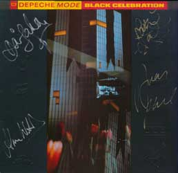 One of my signed Depeche Mode albums as it appears on eBay