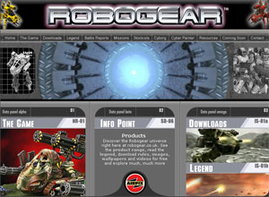 The Airfix Robogear site