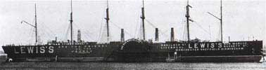 The Great Eastern near the end of her life