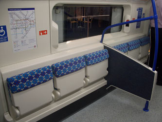 New flip-up seat section