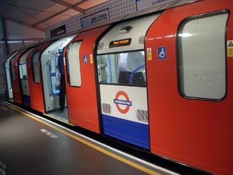 Victoria Line rolling stock prototype