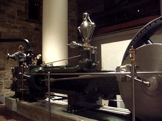 Steam engine in te Scottish museum