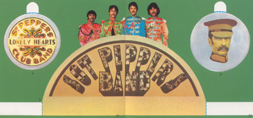 Sgt Pepper cut-outs