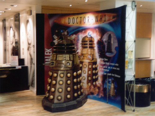 Dalek in TVC cafe
