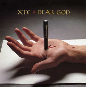XTC Dear God single sleeve