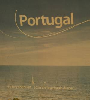 Advert for Portugal at Queensway station