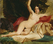 A William Etty nude