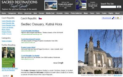 My photos on a Sedlic Ossuary travel guide page