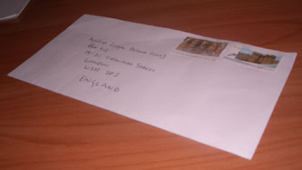 My NO2ID envelope