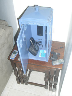 My TARDIS phone booth