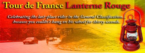TDF Lanterne Rouge blog