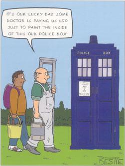TARDIS card