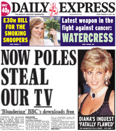 Daily Express iPlayer spoof