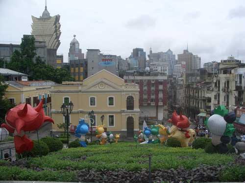 Mascot mania in Macau