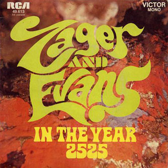 Zager & Evans 'In The Year 2525' cover