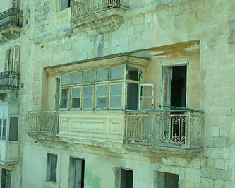 Abandoned house in Malta