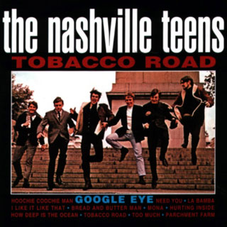 Nashville Teens album sleeve