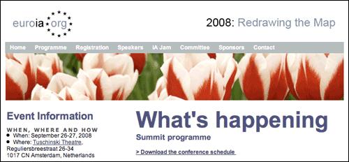 Euro IA website