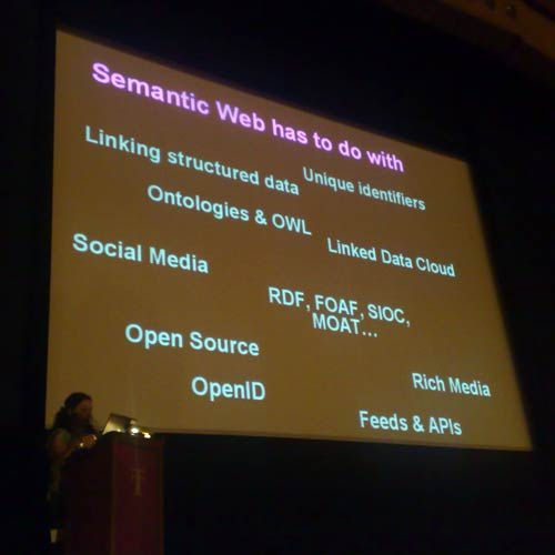 Claudia and the semantic web