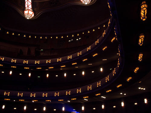 Inside the Tuschinski theatre