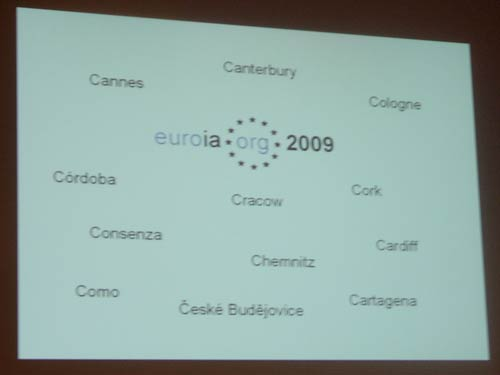 Possible Euro IA Summit 2009 venues
