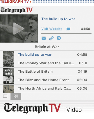 Telegraph TV's World War II footage