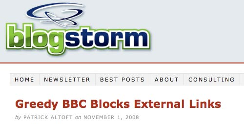 The Blogstorm post