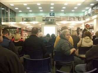 Hornsey library talk