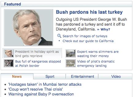 20081126 Yahoo Bush